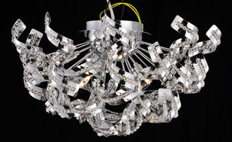 Dentelle Chrome Finished Light Fixture
