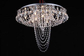 Royal Flush Crystal Chandelier