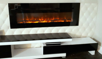 Electric Fireplace 40'' Built-IN