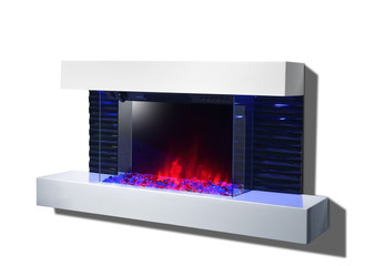 Exquisite Modern Lacquered High Gloss Fireplace console