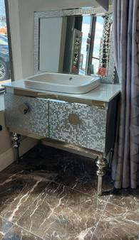 Cartagena Single Sink  Bathroom Vanity