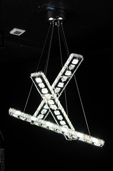 Stella Crystal LED Fixture