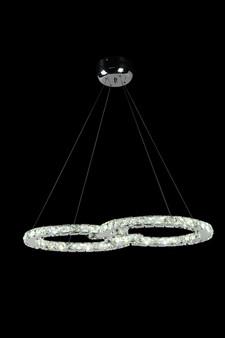 Infinity  Crystal LED Fixture
