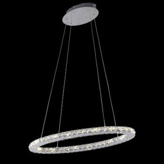 Orbit Crystal LED Fixture