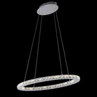 Orbit Crystal LED Fixture