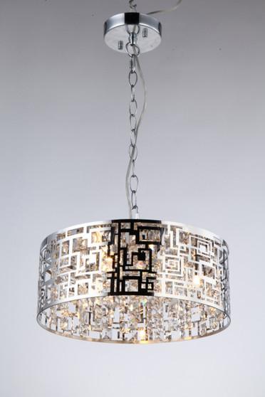 Captivating contemporary pendant chandelier