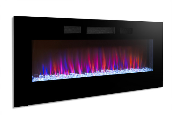 Crystal Fireplace 50'' Built-IN