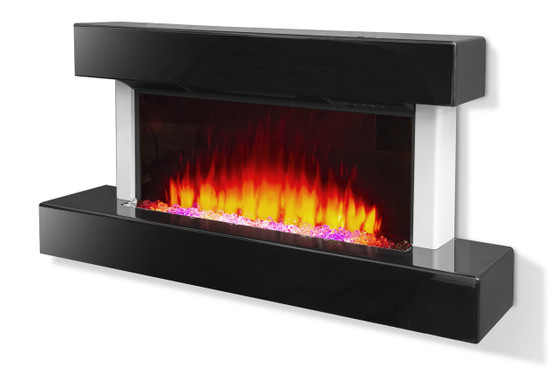 Modern Lacquered Fireplace Console