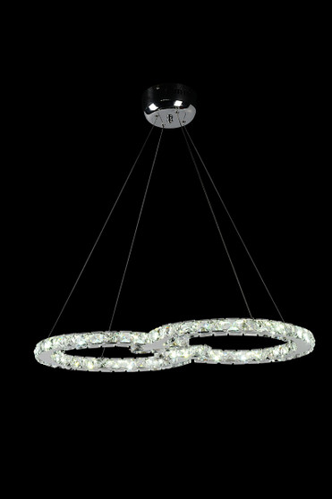 Infinity  Crystal LED Fixture