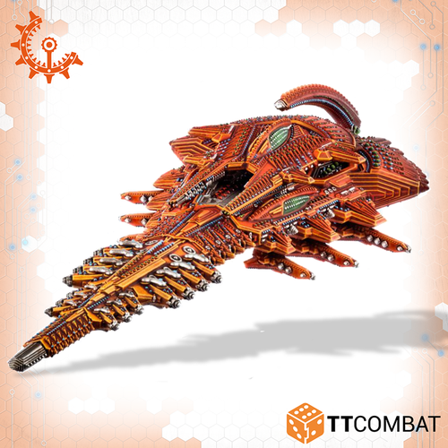 Drofleet Shaltari Diamond/Platinum Battleship