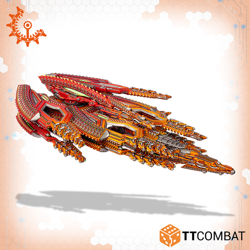Drofleet Shaltari Plutonium Dreadnought
