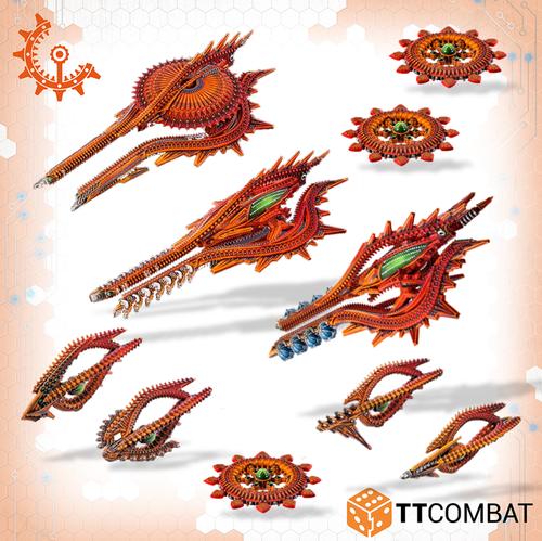 Drofleet Shaltari Starter Fleet