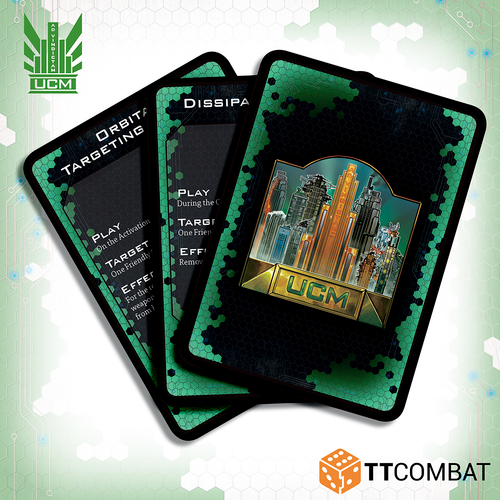 Dropfleet UCM Command Cards