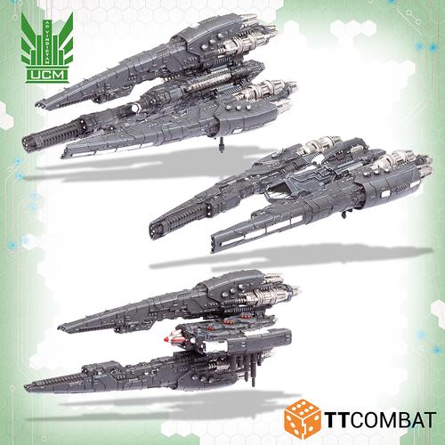 Dropfleet UCM Havana Destroyers