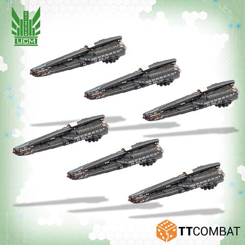 Dropfleet UCM Lysander Stealth Lighters