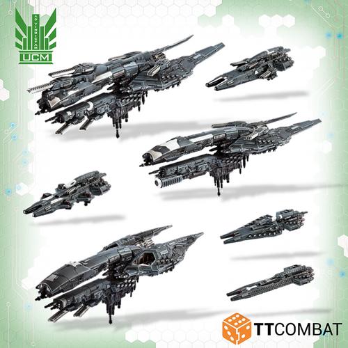 Dropfleet UCM Starter Fleet