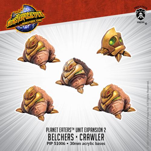 MONPOC Planet Eaters: Belchers & Crawler (Units)