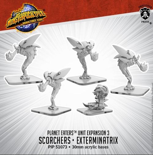 MONPOC Planet Eaters: Scorchers & Exterminatrix (Units)