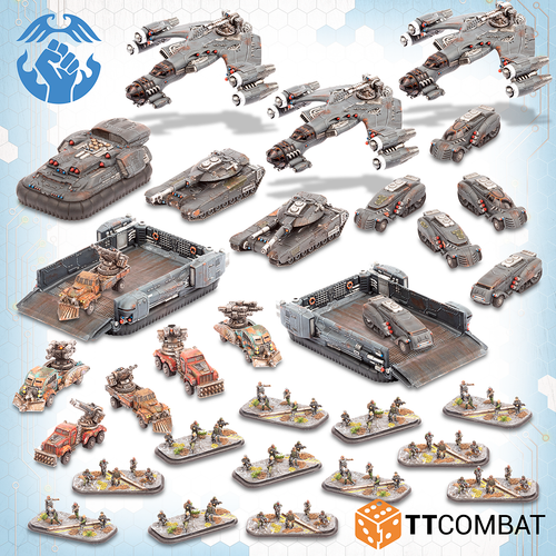 Dropzone Resistance Starter Army