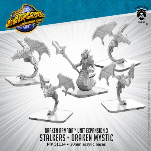 MONPOC Draken Armada: Stalkers & Drakin Mystic (Unit)