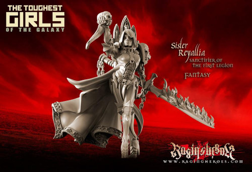 Sister Reyallia, Sanctifier of The First Legion (FANTASY)