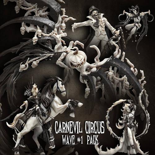 Carnevil Circus Wave #1 Pack (CC - F)