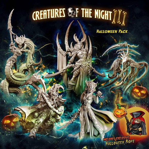 Creatures of the Night 3 – Halloween 2021 Pack (Mixed - F)