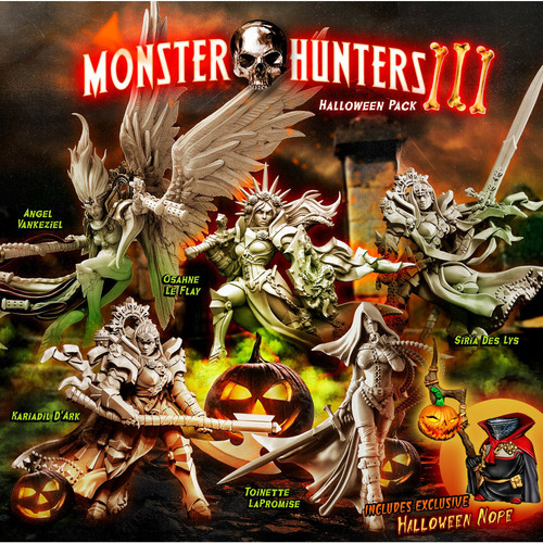 Monster Hunters 3 – Halloween 2021 Pack (Mixed - F)