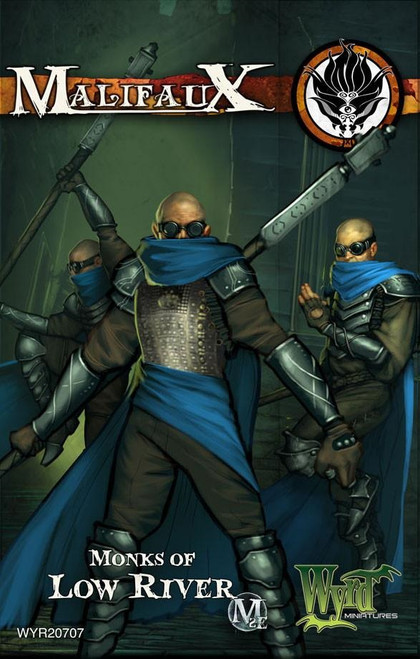 Malifaux Ten Thunders: Monks of Low River