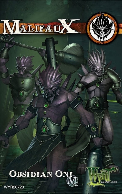 Malifaux Ten Thunders: Obsidian Oni