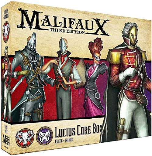 Malifaux Thirtd Edition Lucius Core Box: Elite - Mimic