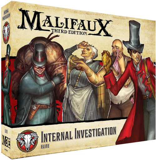Malifaux Thirtd Edition Internal Investigation: Elite
