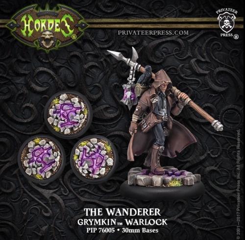 The Wanderer – Grymkin Warlock (resin/metal)