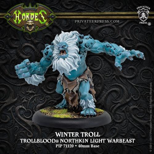 Winter Troll – Trollblood Light Warbeast (resculpt) (resin/metal)