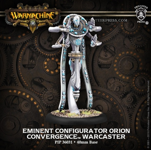 Eminent Configurator Orion – Convergence of Cyriss Warcaster (metal)