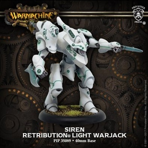 Siren – Retribution of Scyrah Light Warjack (resin/metal)