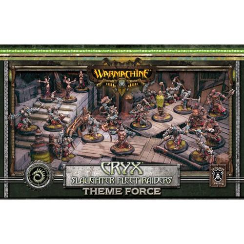 Cryx Blackfleet Theme Force Box (mixed resin/metal)
