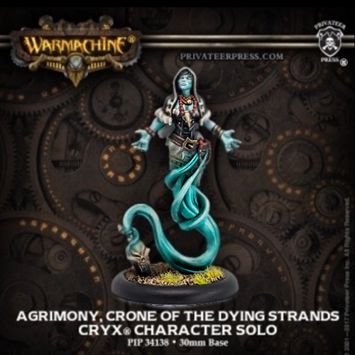 Agrimony, Crone of the Dying Strand – Cryx Solo (metal)