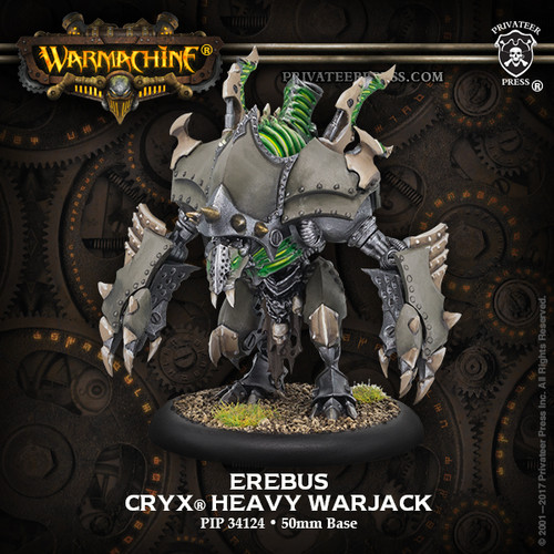 Slayer/Erebus – Cryx Heavy Warjack Kit (plastic)