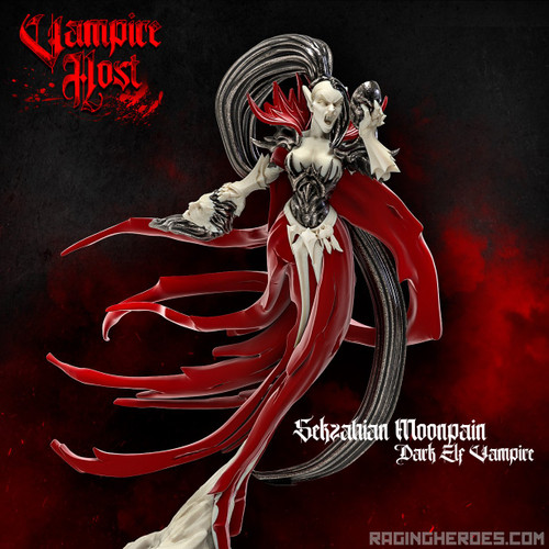Sekzahian Moonpain, Dark Elf Vampire (VH - F)