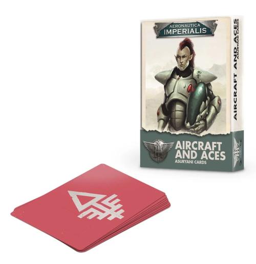 AERONAUTICA IMPERIALIS: ASURYANI AIRCRAFT & ACES CARD PACK