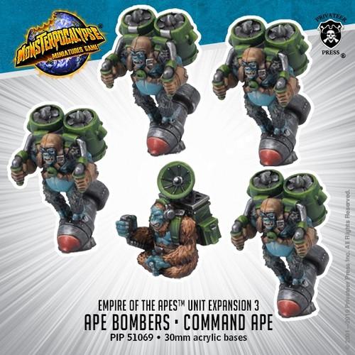MONPOC Empire of the Apes: Ape Bombers & Command Ape (Units)