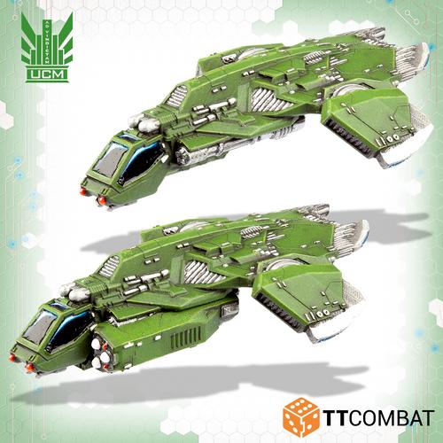 Dropzone UCM Titania Falcon Gunships
