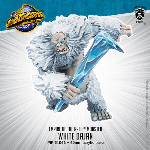 MONPOC Empire of the Apes: White Dajan (Monster)