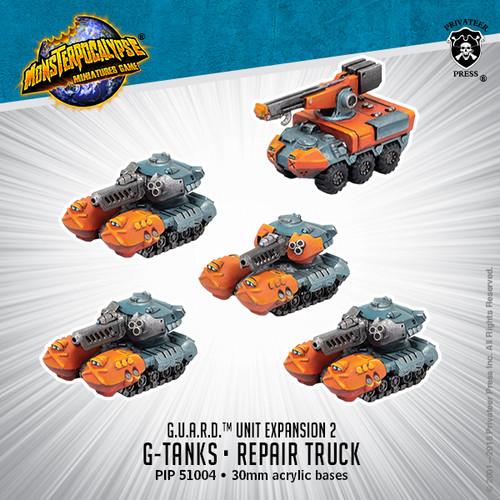 MONPOC G.U.A.R.D.: G-Tanks & Repair Truck (Unit)