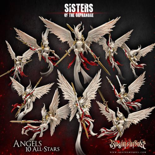 New Angels All-Stars - ALL 10! (Sisters - F)