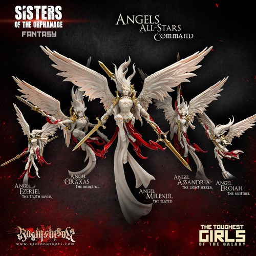 New Angels All-Stars - Command Group (Sisters - F)