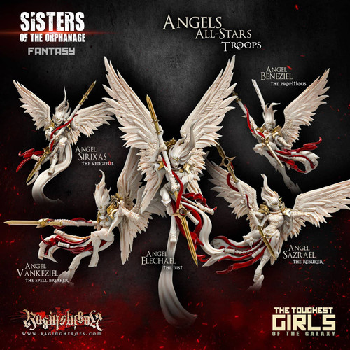 New Angels All-Stars - TROOPS (Sisters - F)