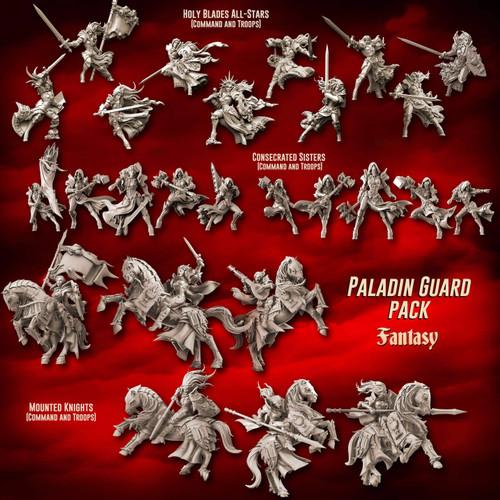 Paladin Guard Pack (SotO - F)