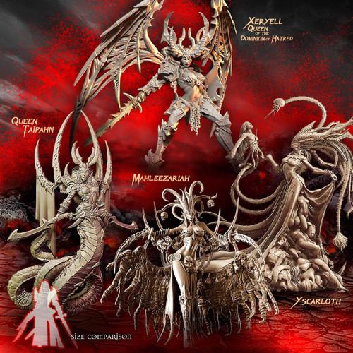 Queens of Destruction Pack (Mix - F/SF)